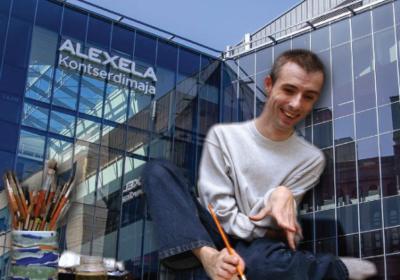 Meelis Luksi maalinäitus mai-juuni 2018 Alexela Kontserdimajas