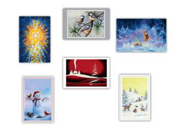 Jõulukaartide komplekt 2018